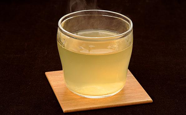 緑茶 レモン水